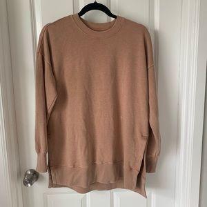 Aerie Desert tunic distressed sweatshirt XS